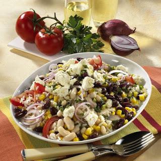 Bean and Sweet Corn Rice Salad