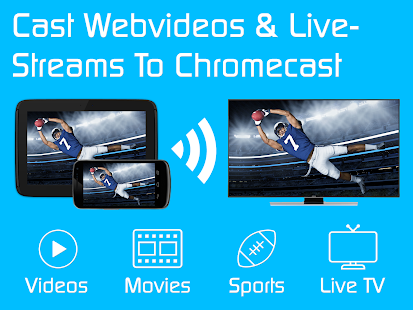 Video & TV Cast | Chromecast - Movie Player App Screenshot