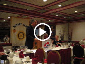Video: President Joe Johnson thanks Hal Gerow for speaking about Rotary Leadership - July 15, 2008