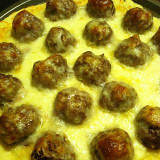 Meatball Pizza {Gluten Free} Recipe
