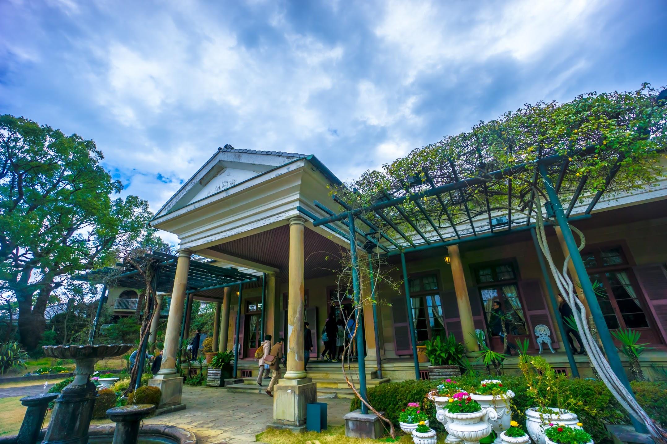 長崎 グラバー園 旧オルト住宅1