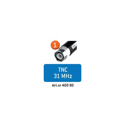 Zodiac Skogsantenn 31 MHz TNC
