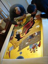 "Photo: Palestrinos vienuolyno studijoj. ""artejam i pabaiga"""