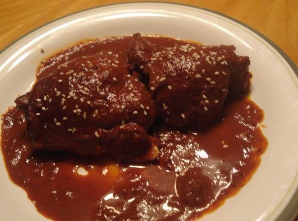 Oaxacan Chillied Chicken/pollo Enchilado Oaxaqueno Recipe