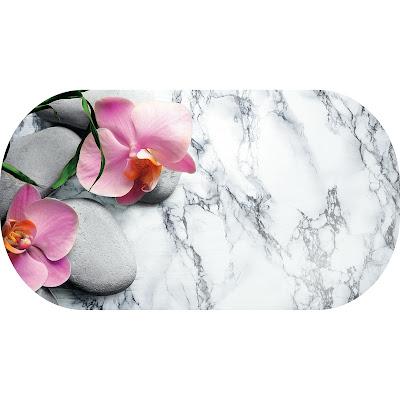 Коврик для ванной Fora Marble 69х38 см