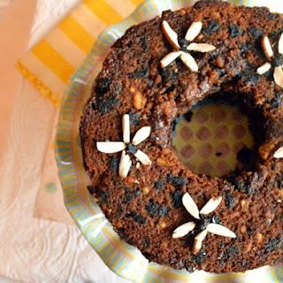 Brown Sugar Spice Cake with Caramel Glaze
