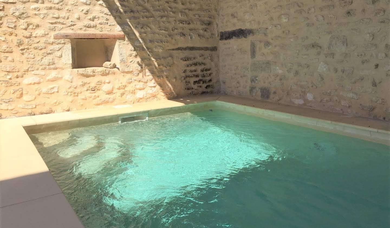 Maison avec piscine et jardin Gordes