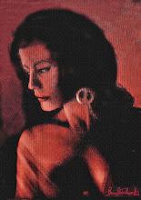 """Photo: Bruno Steinbach. """"Retrato de Rose Silveira"""".  Óleo / tela, 100 x 70 cm, 1987. Camboinha, Cabedelo, Brasil.  Coleção: Rose Silveira, João Pessoa, Paraíba.  Artist Sites: http://brunosteinbach.wordpress.com/ http://www.brunosteinbach.blogspot.com/ http://www.facebook.com/brunosteinbachgallery/ https://www.facebook.com/atelierbrunosteinbach mailto:brunosteinbachsilva@gmail.com"""