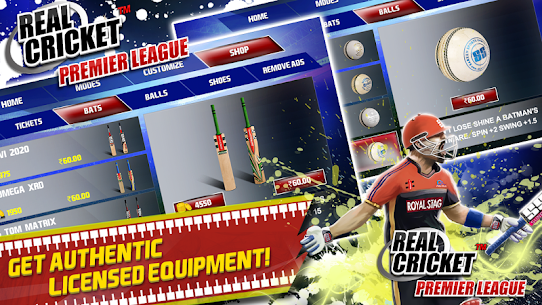 Real Cricket™ Premier League v1.1.2 MOD APK 6