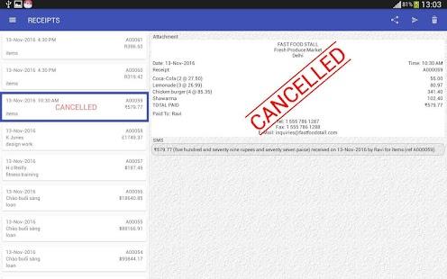 Cash receipt android apps on google play cash receipt screenshot thumbnail altavistaventures Images