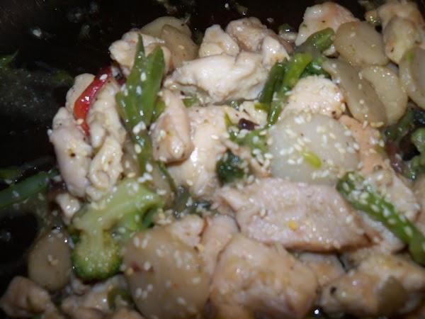 Asian Sesame Seed Chicken Recipe