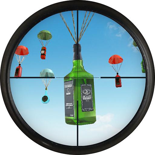Shooting Range Bottle Flip 3D