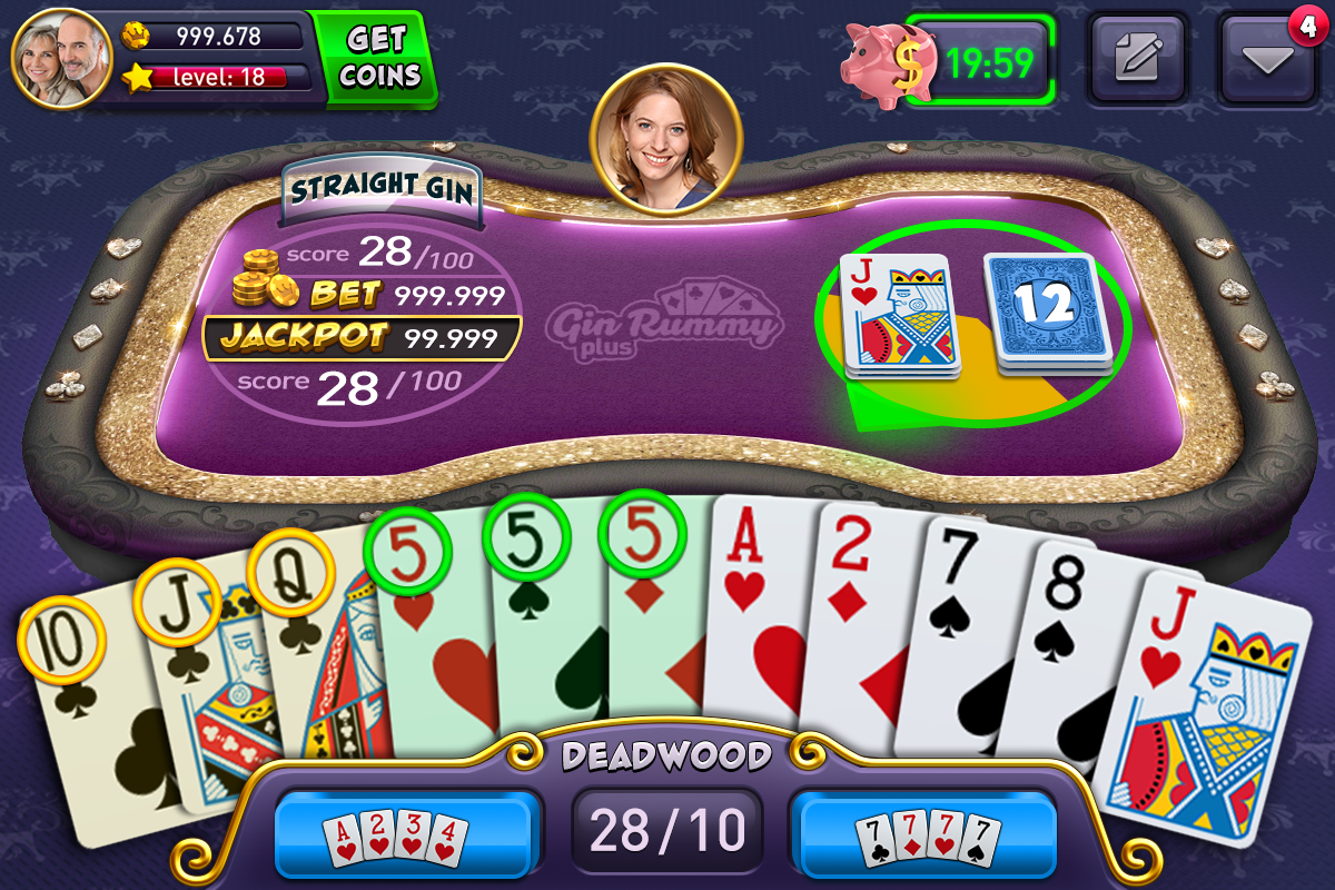 Gin Rummy Plus- screenshot