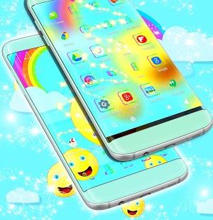 Emoji 2017 Theme Launcher - náhled