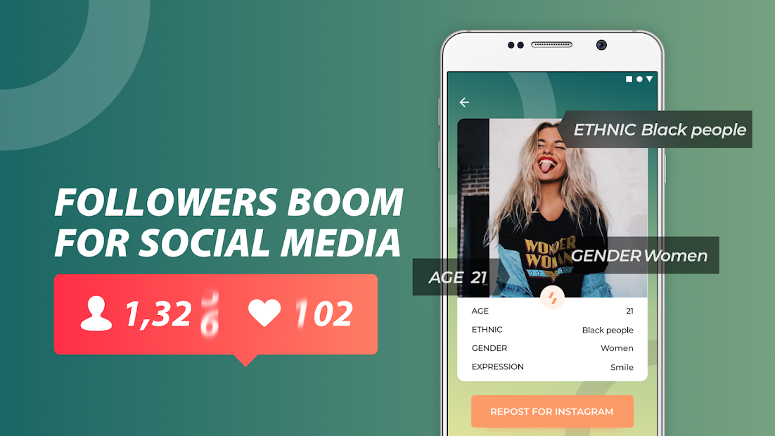 Real Followers - Fast & High Quality Android App Screenshot