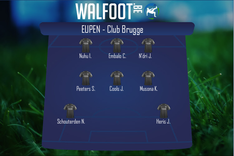 Eupen (Eupen - FC Bruges)