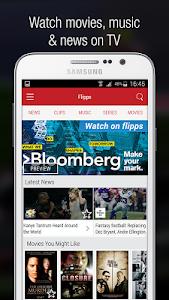 Flipps – Movies, Music & News v6.0.4