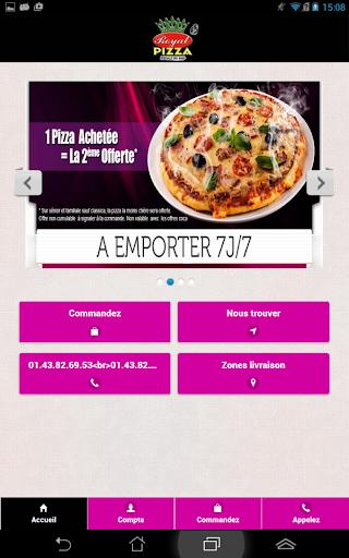 Royale Pizza Villeneuve