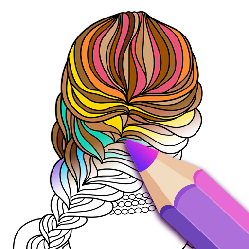 ColorFil - Adult Coloring Book Icon