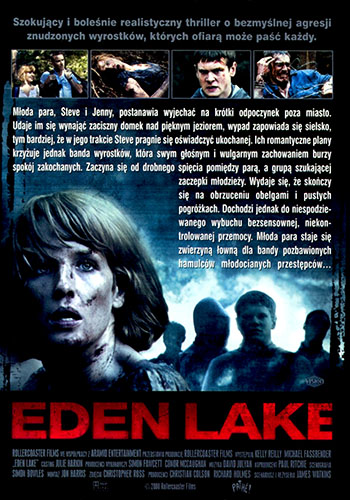Tył ulotki filmu 'Eden Lake'