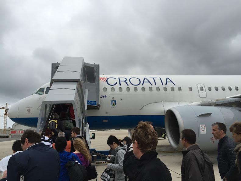 ドゥブロヴニク 搭乗