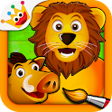 Savanna - Coloring Games Kids icon