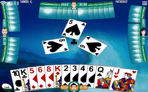Golden Card Games (Tarneeb – Trix – Solitaire) 1