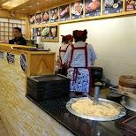 sushi shop in Jiufen in Jiufen, T'ai-pei county, Taiwan