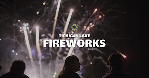 Tichigan Lake Fireworks