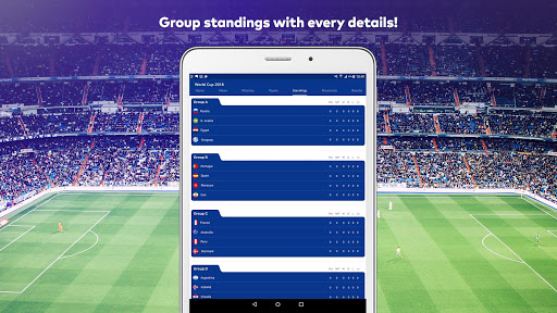 World Cup 2018 in Russia - Live Score, Match, News 6.0 screenshots 12