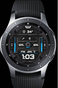 Download Z SHOCK 12 color changer watchface for WatchMaker For PC Windows and Mac apk screenshot 5