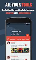 Screenshot of WODBook - Your WOD Tracker