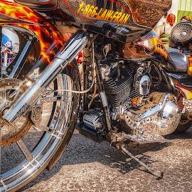 by Edward Allen - Transportation Motorcycles