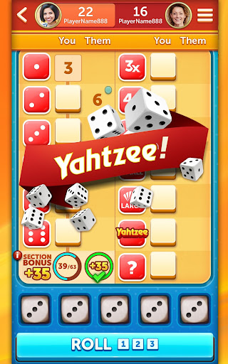New YAHTZEEu00ae With Buddies Dice Game 5.4.0 screenshots 12