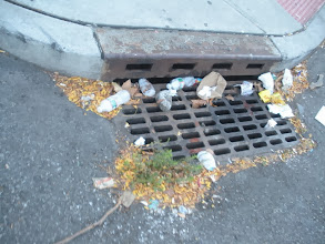 Photo: Ends up in drains