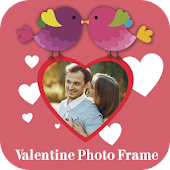 Happy Valentine Day Photo Frame 2018