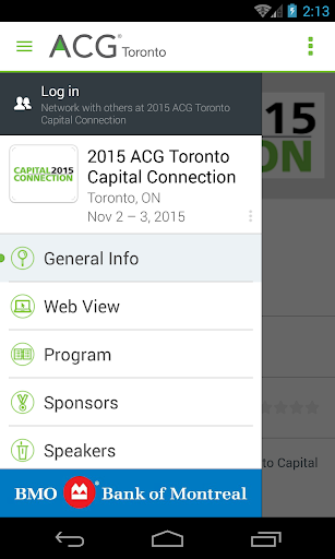 ACG Toronto Capital Connection