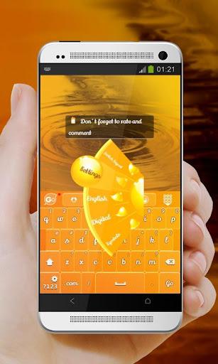 【免費個人化App】晚霞 GO Keyboard-APP點子