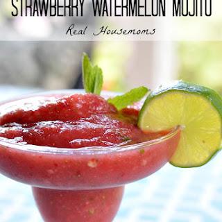 Frozen Strawberry Watermelon Mojito.