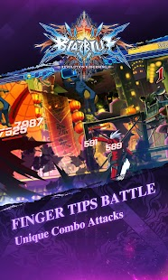 BlazBlue RR - Fighting Screenshot