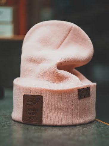 FCKSHTUP Pink Beanie