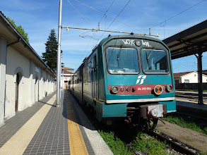 Photo: train to Pisa in the afternoon