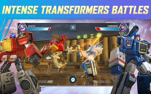 TRANSFORMERS: Forged to Fight screenshots 1