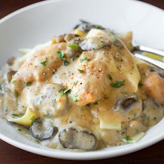 Creamy Chicken Stroganoff with Mushrooms Recipe