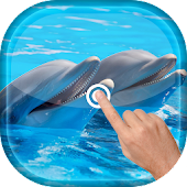 Magic Wave - Cute Dolphin LWP