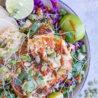 Baja Fish Taco Bowl.