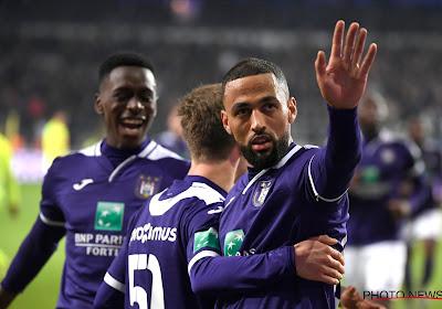 Anderlecht speelt gelijk tegen Gent