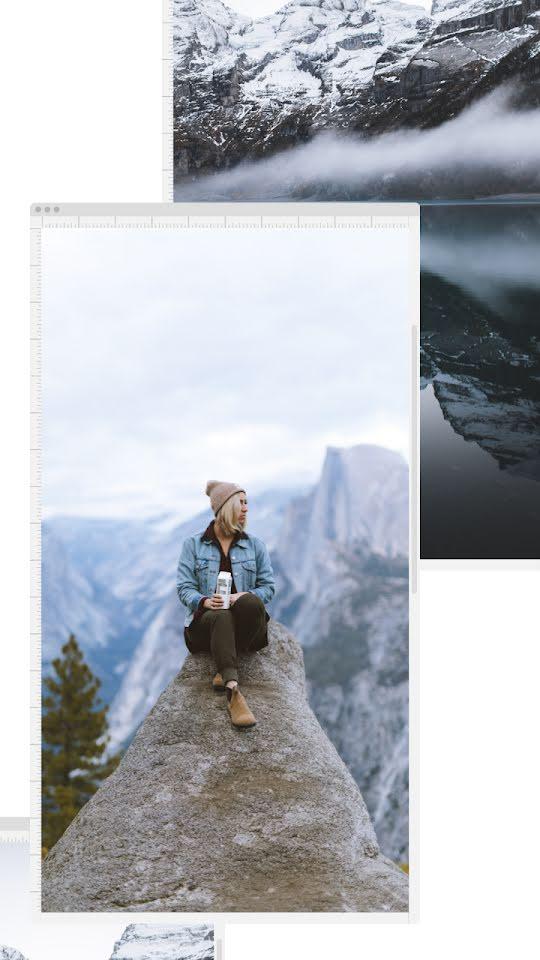 Mountain Perch Window - Facebook Story Template