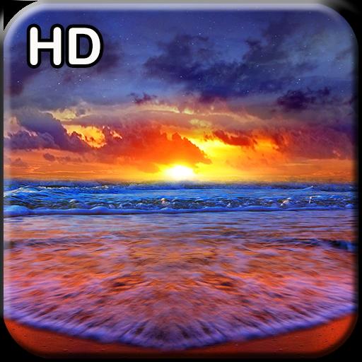 Ocean Sunset HD Wallpaper