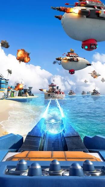 Sea Game: Mega Carrier Android App Screenshot